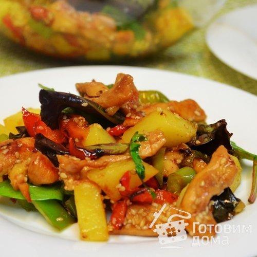 «Абинский» тёплый салат