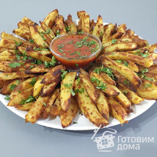 Картофель запеченный в панировке