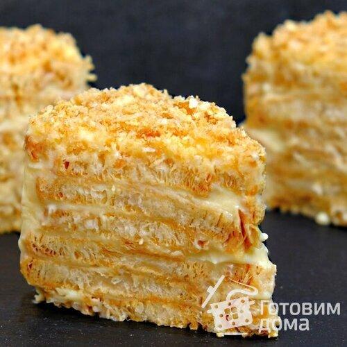 Торт Наполеон без выпечки самым ленивым способом