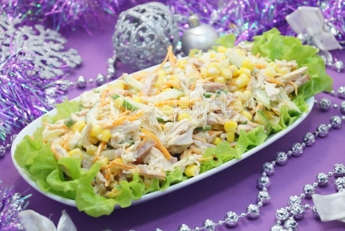 Новогодний салат «Чародей»
